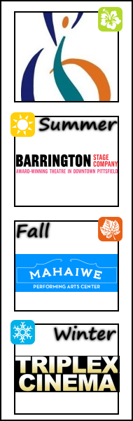 Berkshire Choral International, Barrington Stage Company, Mahaiwe Performing Arts Center, Triplex Cinema